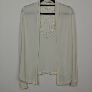 Silence + Noise | Urban Outfitters Cream Cardigan